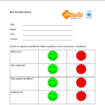 Kuvakaappaus arviointilomakkeen luomisesta Libreoffice ohjelmassa